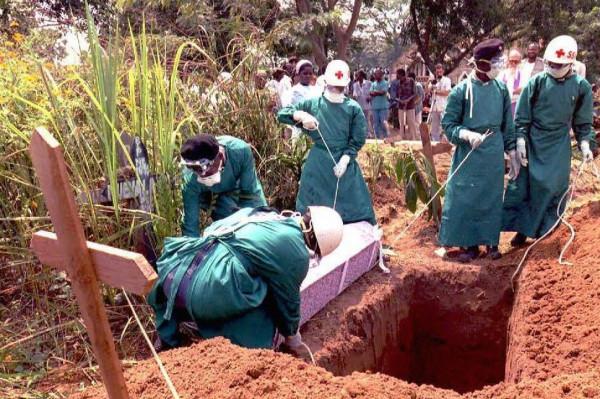 Funerali di una persona deceduta di ebola