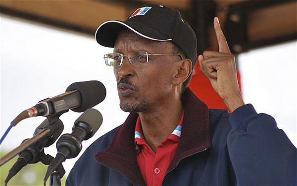 Paul Kagame, presidente del Ruanda
