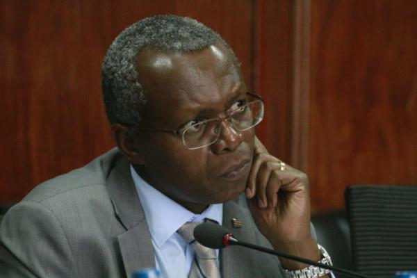 L'amministratore delegato della Kenya Railways Atanas Maina