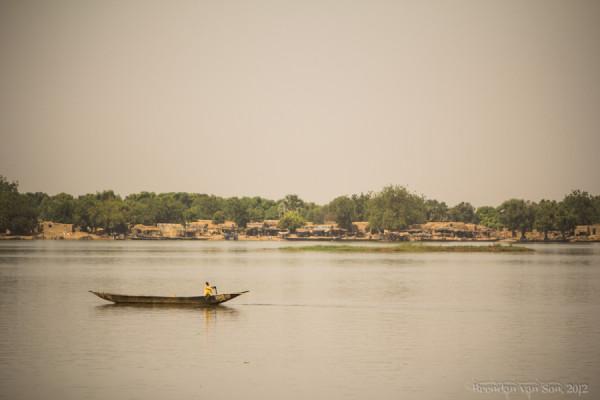 Una veduta del fiume Niger