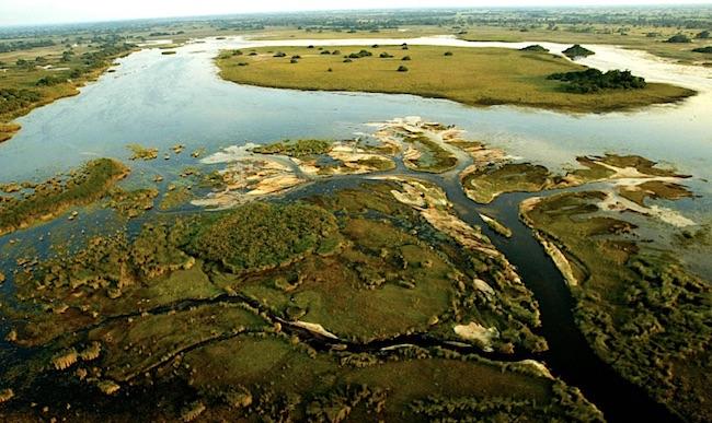 Il Delta dell'Okawango