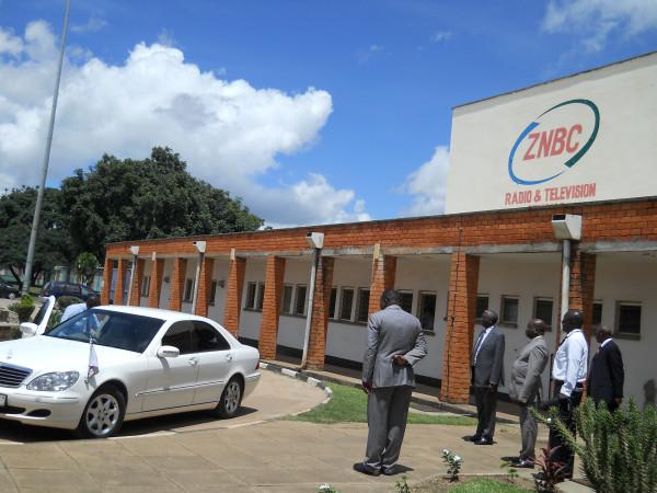 L'emittente radio televisiva nazionale dello Zambia ZNBC di proprietà