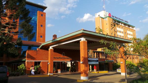 Uno dei meglio attrezzati ospedali privati di Nairobi