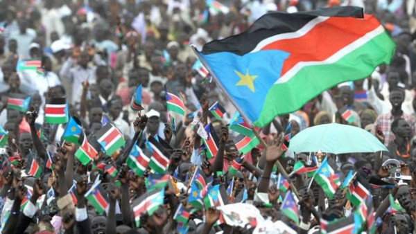 Le celebrazioni del 2011 all'ottenimento dell'indipendenza che portava poi solo morte e distruzioni
