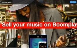 Schermata della piattaforma Boomplay (Courtesy Boomplay.com)