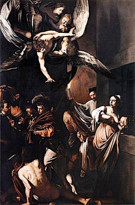 Michelangelo Merisi da Caravaggio, Le sette opere di misericordia corporale, 1606-1607, Napoli, Pio Monte della Misericordia