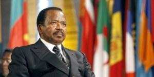Paul Biya, presidente del Camerun al suo settimo mandato