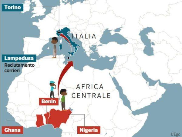La mafia nigeriana balza ai primi posti nella classifica mondiale della criminalità