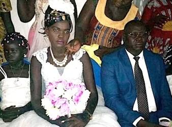 La diciassettenne sposa in Sud Sudan