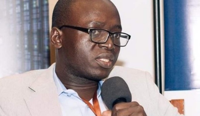 Il giornalista tanzaniano Erick Kabendera (Courtesy Amnesty International)