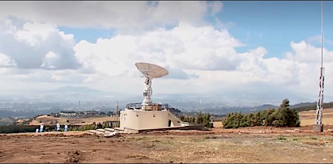 L'osservatorio spaziale Entoto, dove vengono monitorati i dati del satellite etiope