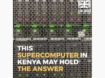 Il supercomputer per combarrere l'invasione delle locuste (Courtesy UK Aid)