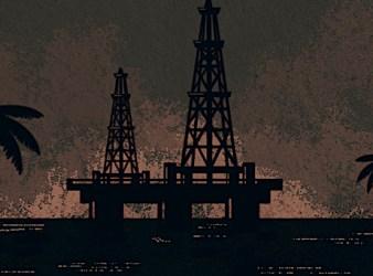 """Immagine di copertina del report """"Dall'eldorado del gas al caos"""" (Courtesy: Amici della Terra)"""