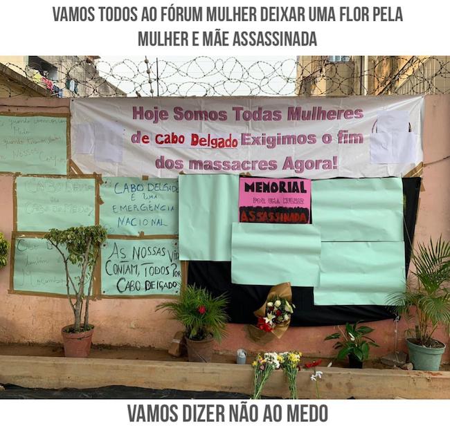 Protesta sui social contro l'uccisione di Paulina Chitai a Cabo Delgado