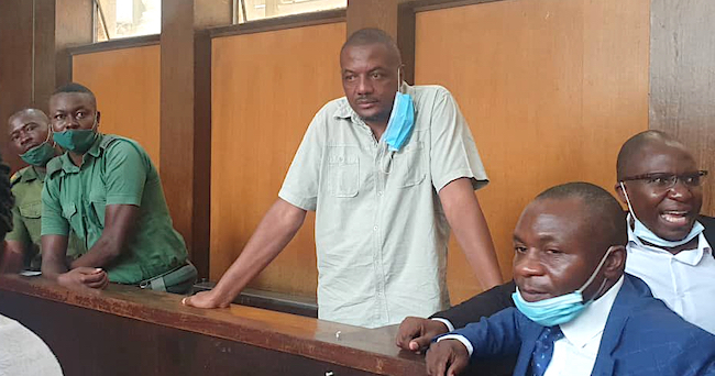 Libertà di stampa - Hopewell Chin'ono in tribunale