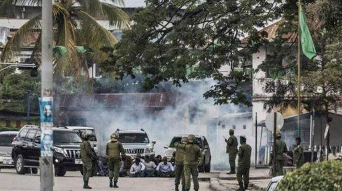 Manifestazione in Tanzania
