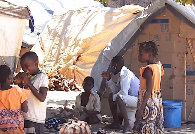 giacimenti di gas -campo profughi