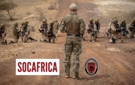 berretti verdi addestramento SOCAFRICA
