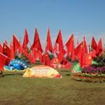 [北京生活] 国慶節と朝陽公園