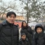 [北京生活]元旦はラマ寺院。PM2.5インデックスが500近いにも関わらずお焼香は規制されず。