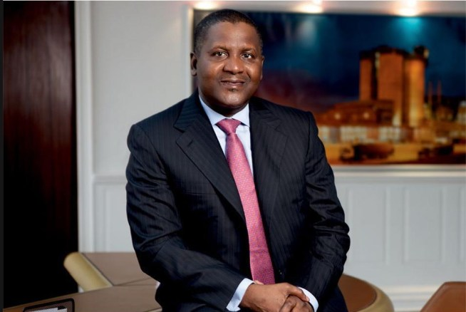Bilderesultat for aliko dangote