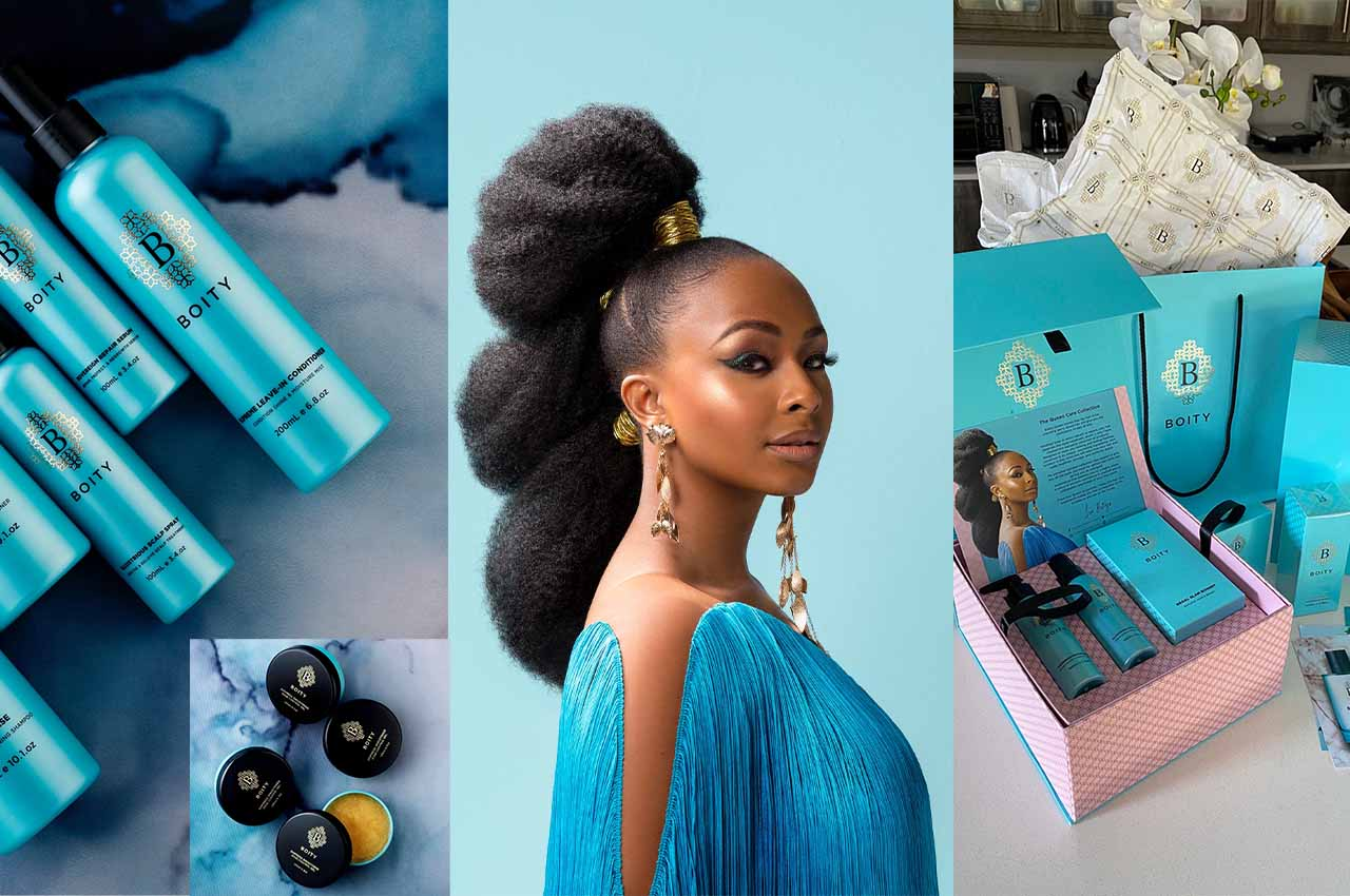 Boity Launches New Powerful Hair Care And Perfume Products