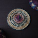 Woven Trivet Handmade In Niger Africa Blooming