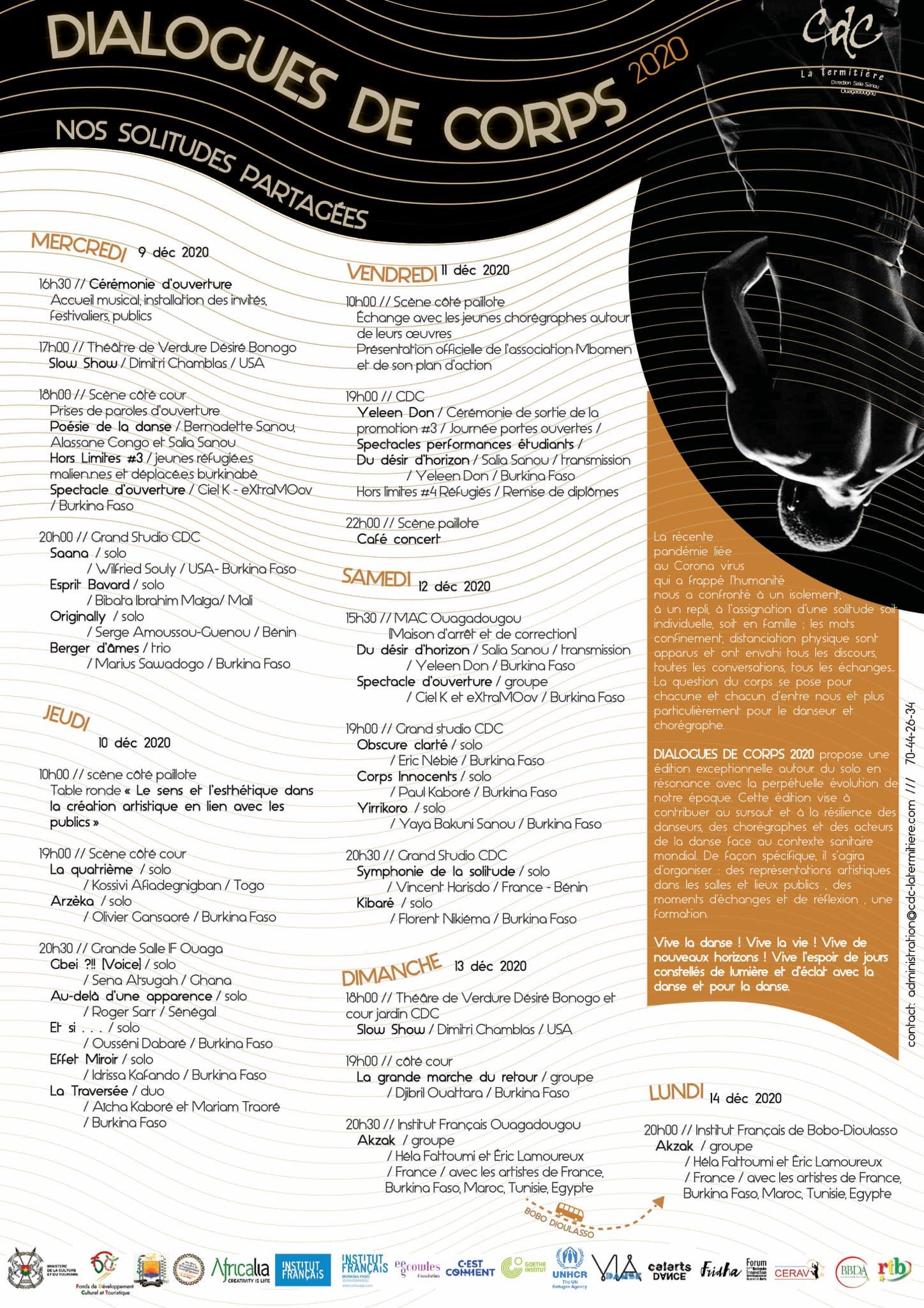 dance festival dialogues de corps
