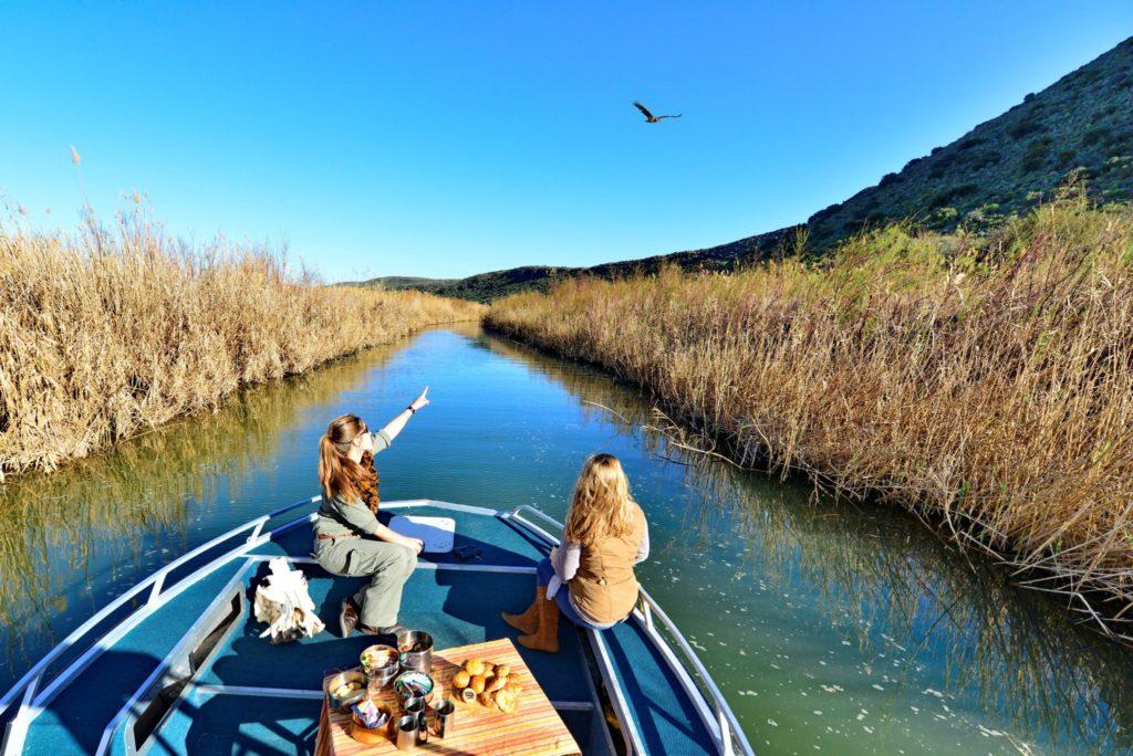 Afternoon boat ride at Sanbona Wildlife Reserve