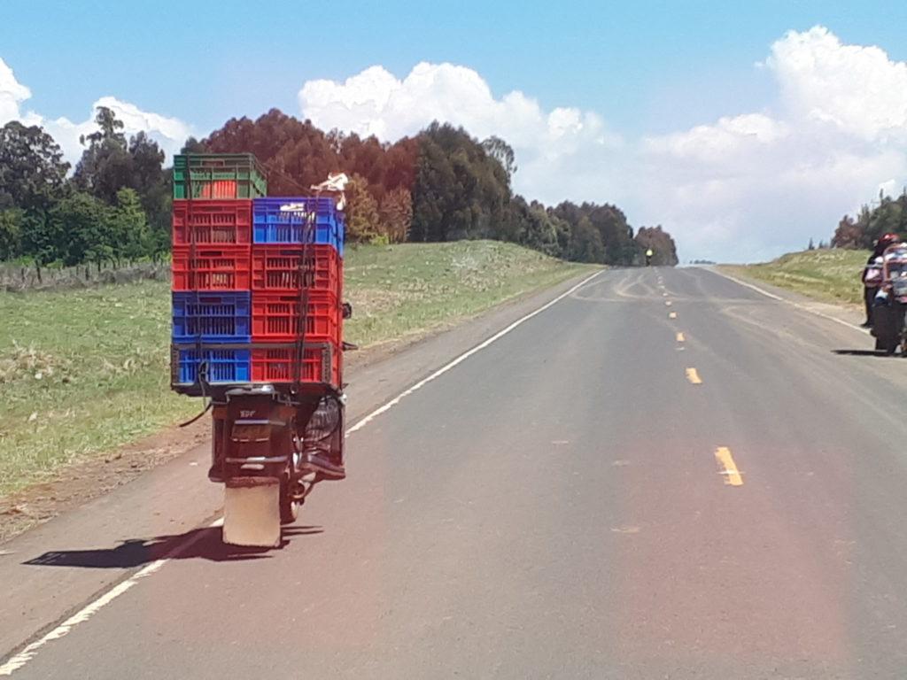 Kenya delivery driver
