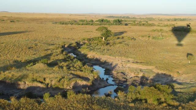 Hot Air Balloon Safari over the Masai Mara in Kenya