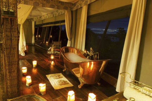 Luxury Bath and Shower in your tent