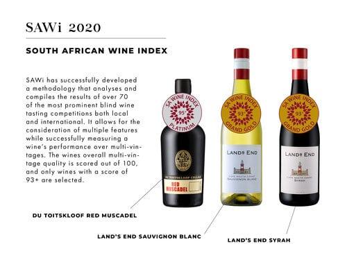 Award winning wines 2020