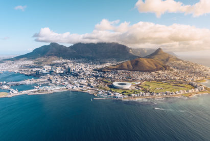 SOUTH AFRICA - Table Mountain and Cape Town