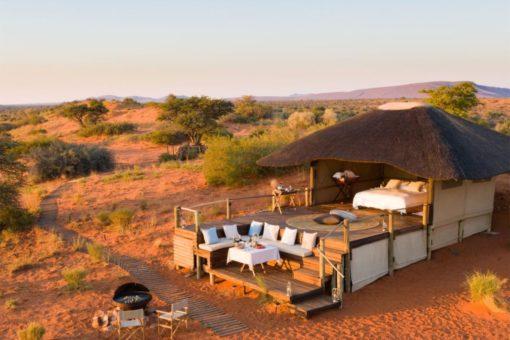 Luxury Accommodation in the Kalahari