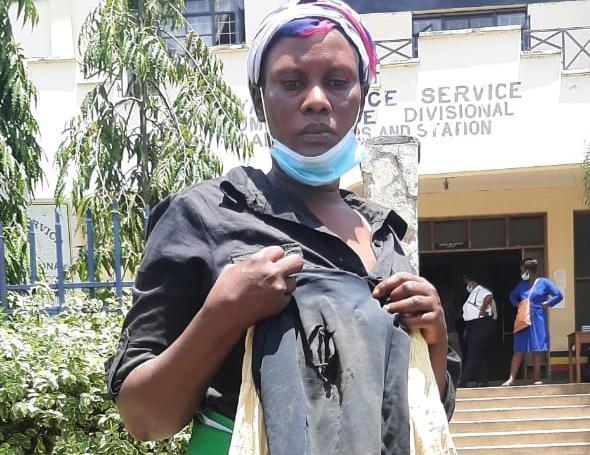 Beatrice Atieno hawker dragged on road