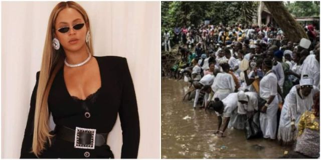 Beyonce channels Osun