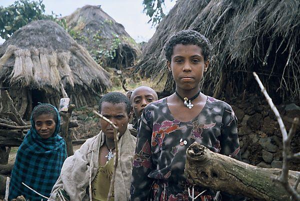 Amhara Girl Photo Ethiopia Africa