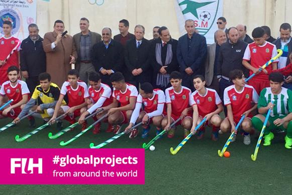 Algeria pulls out all the stops as hockey makes reappearance
