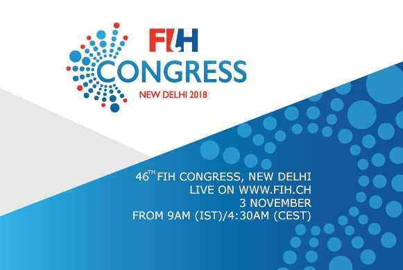 46th FIH Congress kicks-off in New Delhi