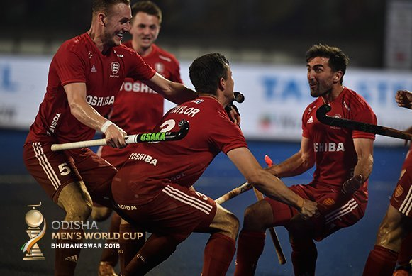 England and France book quarter-final tickets on Day 13 of Odisha Hockey Men's World Cup Bhubaneswar 2018