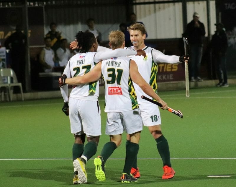 #AfricanHockeyRoadToTokyo: SuperGroup South Africa get started while Egypt and South Africa make a statement