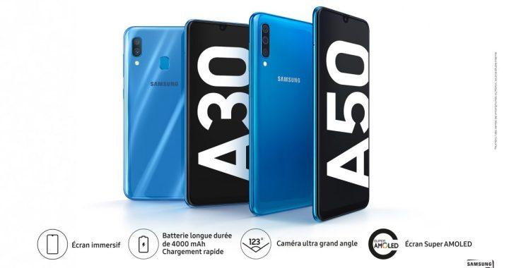 Samsung lance une nouvelle série Galaxy A