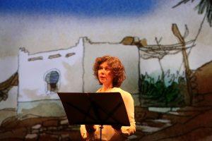 Lecture dessinée : la romancière et l'archéologue, un merveilleux voyage en Orient