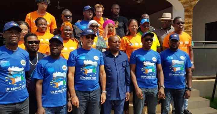 Côte d'Ivoire: A'Salfo et l'Ambassadeur de l'UE intronisés rois des Agni à Agnibilékro