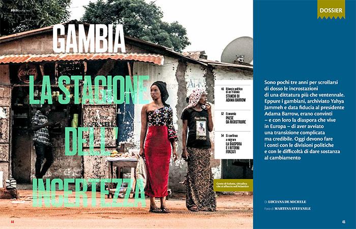Gambia, tre anni dopo