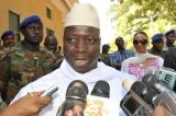 Gambia's President Yahya Jammeh reshuffles cabinet after soldier coup attemp