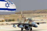 Israeli Air Force aircrafts fuel Jordanian combat planes in mid-air