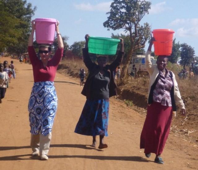 melinda gates water malawi
