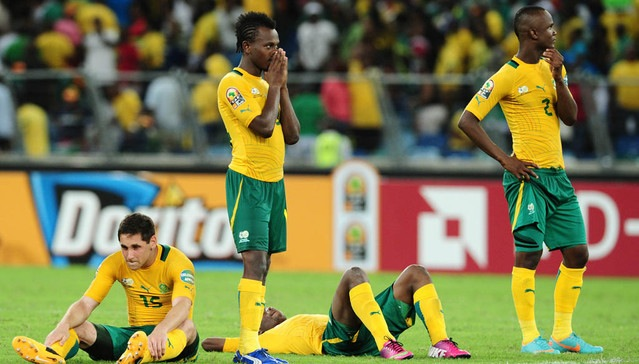 Image result for bafana bafana lose